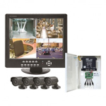 Take a closer loko at the CCTV Combi Unit with 4 Cameras