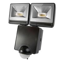 Twin LED PIR Floodlight