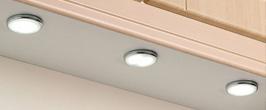 Surface mounted LEDs