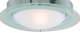 Prato Flush Fitting Bathroom Light from Searchlight