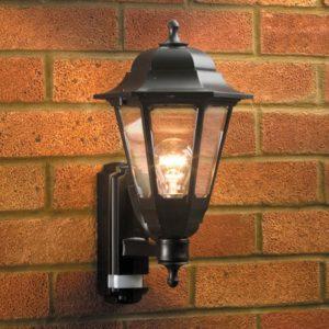 Lyco - ASD Coach Lantern Outdoor Wall Light with PIR Sensor