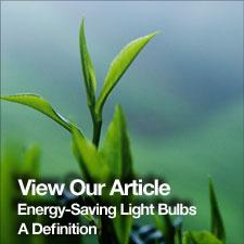 Energy saving light bulbs where next
