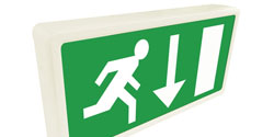 4W LED Emergency Sign Box