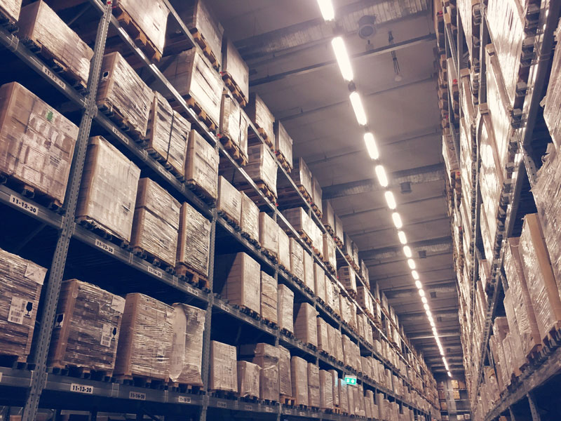 Warehouse - Lighting Project