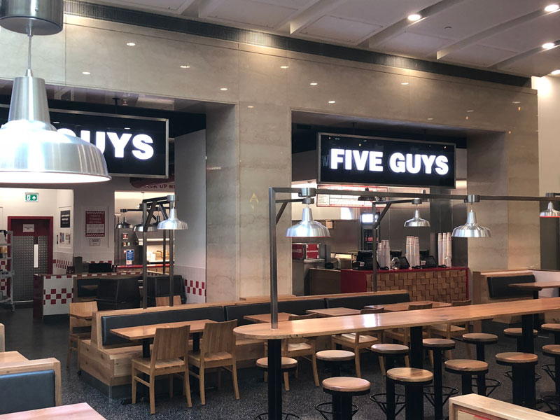 Five Guys - Lighting Project