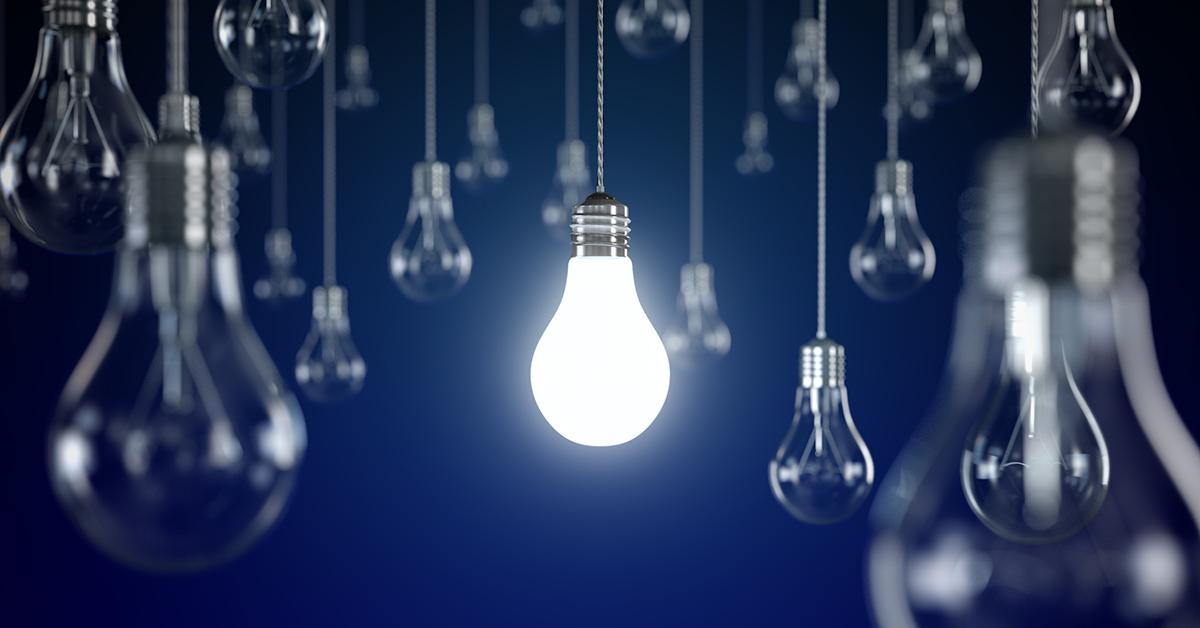 traditional light bulb gls