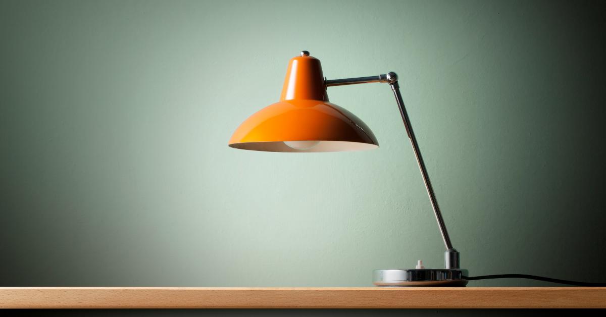 table desk floor lamp lighting