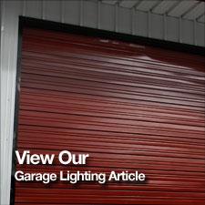 Garage lighting where next