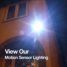 Motion sensor lights where next
