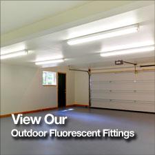Outdoor fluorescent lights where next