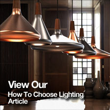 How to choose lighting where next