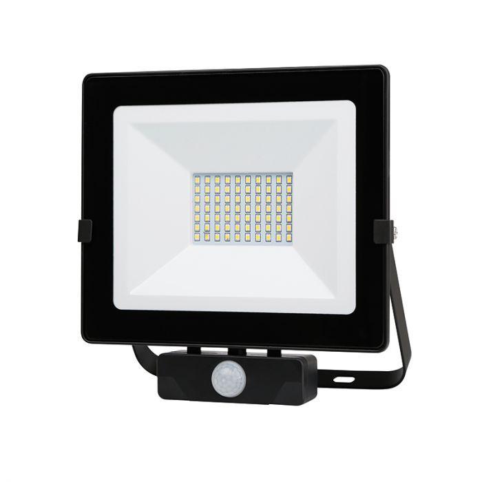 lyco floodlight discount 50W outdoor light with PIR sensor