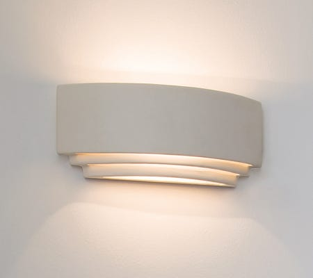 Ceramic Plaster Wall Lights