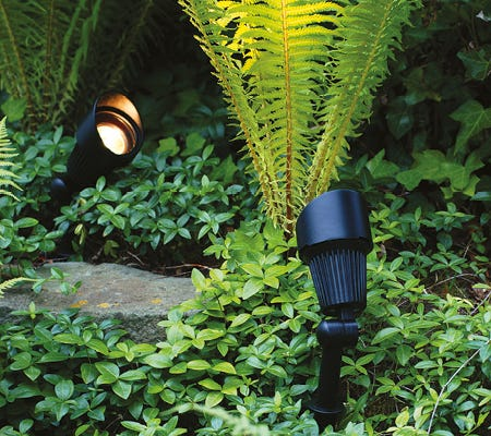 Plug & play Low Voltage Garden Lighting