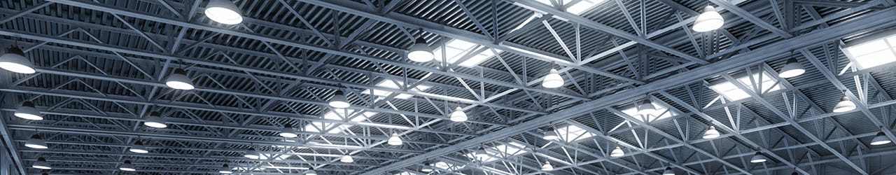 High and low bay lighting, commercial lighting