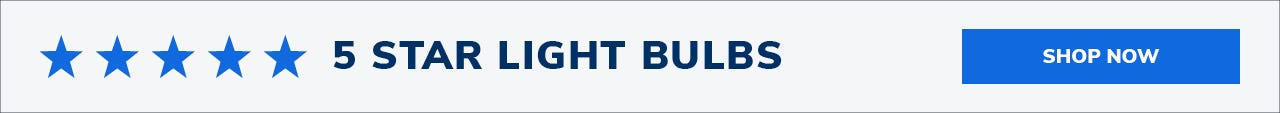 5 Star Light Bulbs