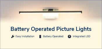Battery Operate Picture Lights
