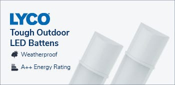 Tough Outdoor LED Battens
