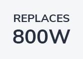 Robus Champion 100W Cool White LED Floodlight - Black