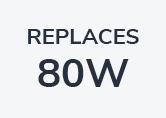 80W PAR 38 Clear Reflector - Screw