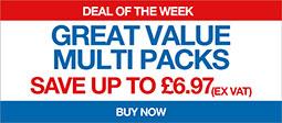 Great Value Multi Packs