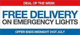 Free Delivery On Emergency Lights