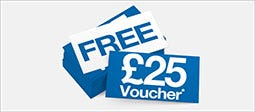 Free £25 Voucher When You Spend £100