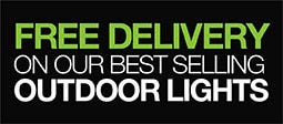 Free Delivery On Our Best Selling Outdoor Lights