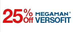 25% Off Megaman Versofit Downlights