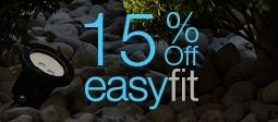 15% Off Easyfit Garden Lighting