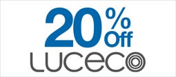 20% Off Luceco Lighting