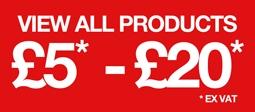 Clearance £5 - £20