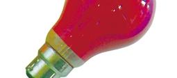 Colour GLS Bulbs