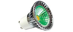 Coloured GU10 Bulbs