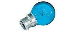 Coloured Golf Ball Bulbs