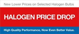 Halogen Bulbs Price Drop