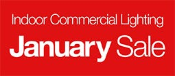 January Sale - Indoor Commercial Lighting