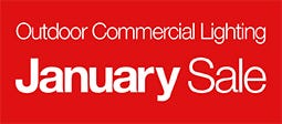 January Sale - Outdoor Commercial Lighting