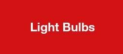 Light Bulbs - Clearance