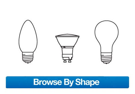 Find Light Bulbs by Shape