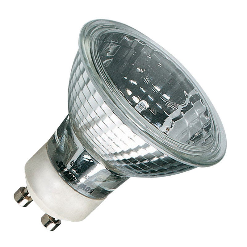 Lyco 20W Dimmable White Halogen GU10 Bulb