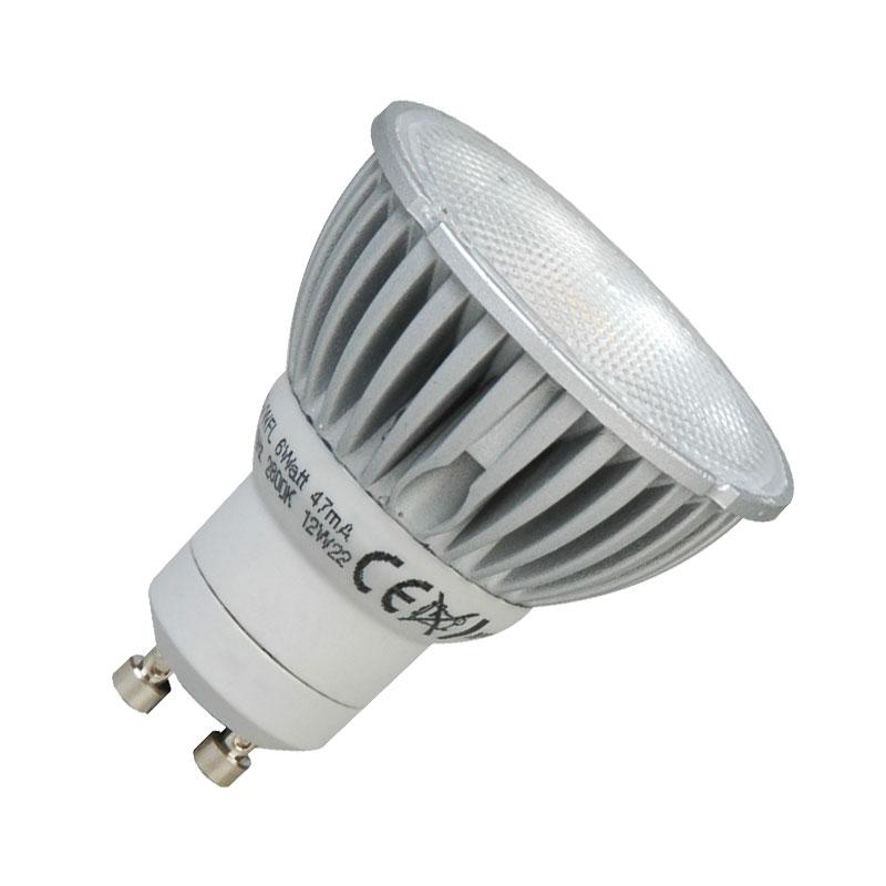 6w gu10 led bulbs cheapest lighting uk. Black Bedroom Furniture Sets. Home Design Ideas