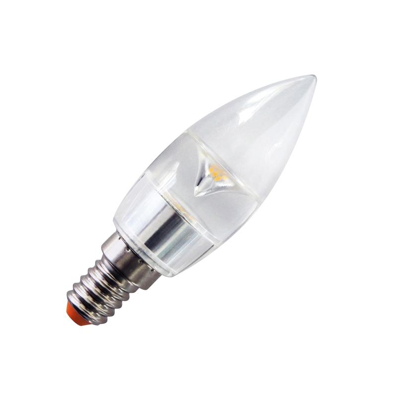 3 Watt Ses E14 Led Candle Bulbs Cheapest Lighting Uk