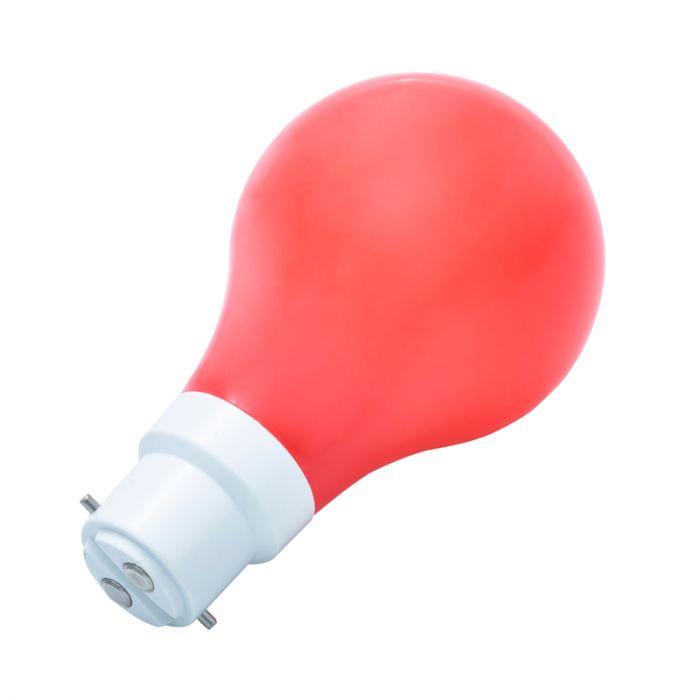 Calex 1W Red LED GLS Bulb Bayonet Cap