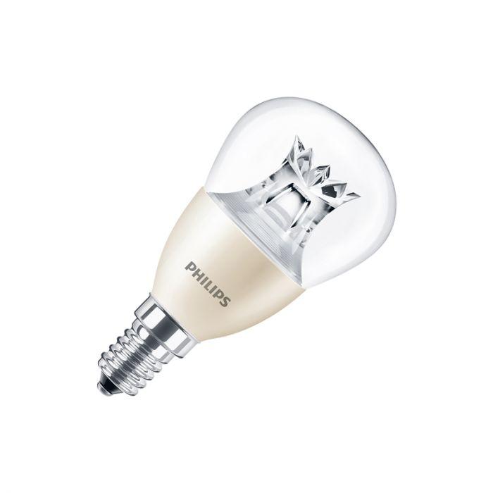 Philips 6W Warm White DimTone LED Golf Ball Bulb Small Screw Cap