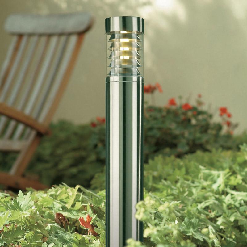 Philips Birmingham Stainless Steel Outdoor Post Light