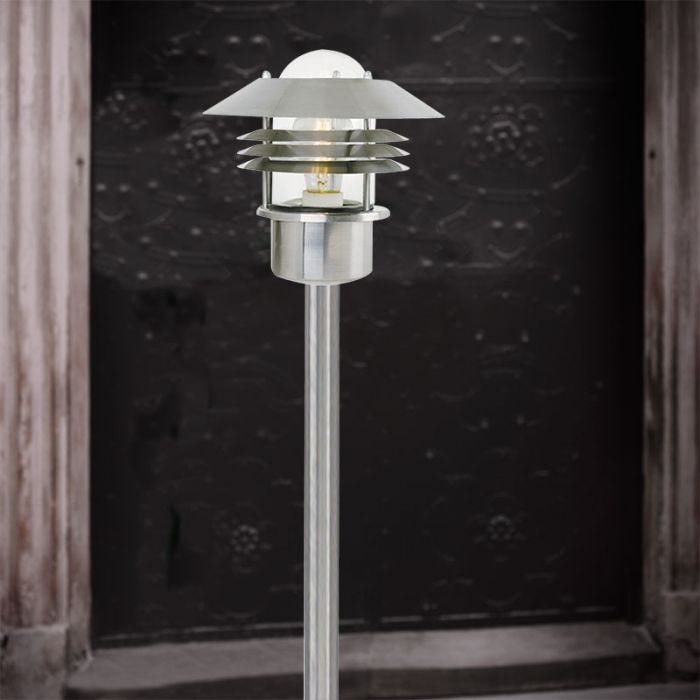 Nordlux Vejers Outdoor Post Light Stainless Steel