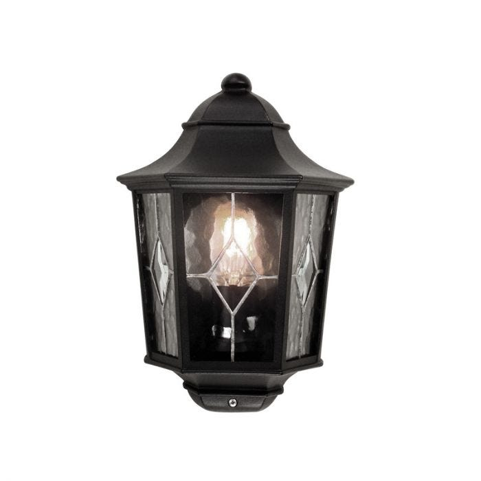 Big Outside Wall Lights : SALE on Elstead Norfolk Half Lantern Outdoor Wall Light - Large - Elstead. Now Available our Best