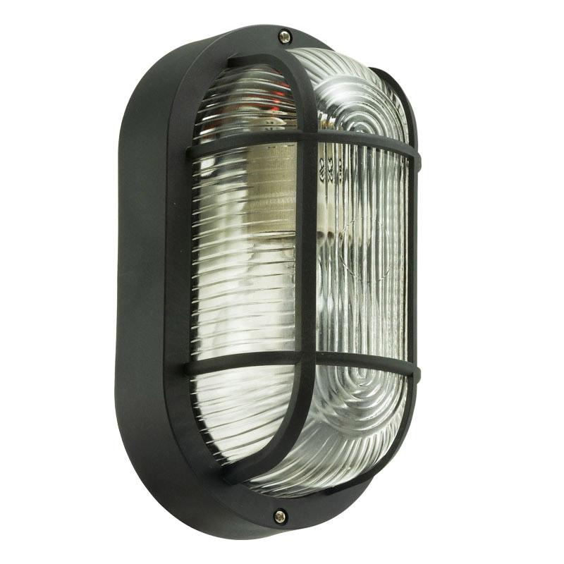 Outdoor Lighting Anola Oval Bulkhead