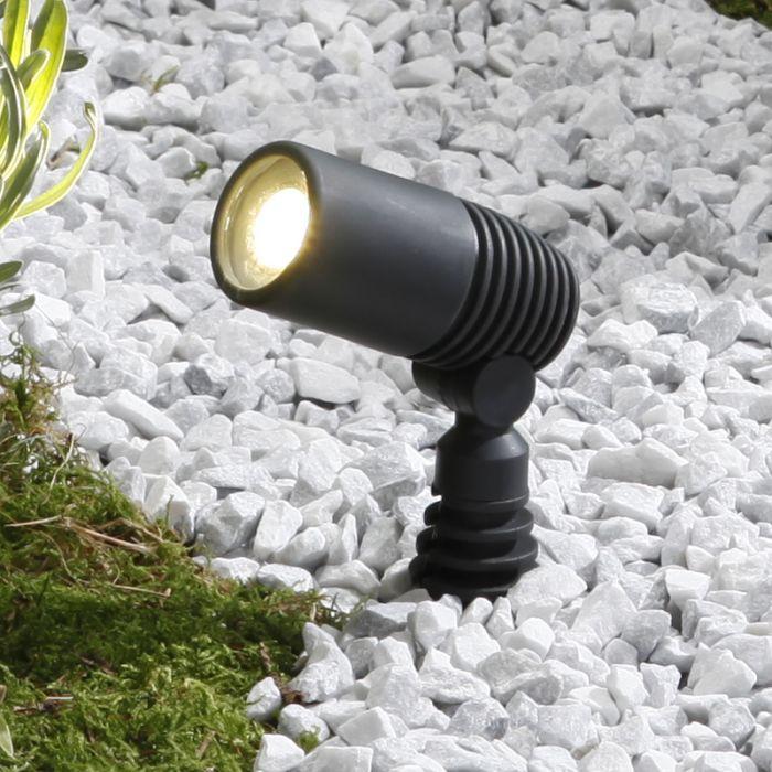Techmar Ludeco Alder LED Garden Spotlight